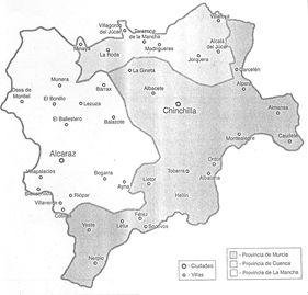 Jarique el doble componente de la provincia de albacete - Plano de almansa ...